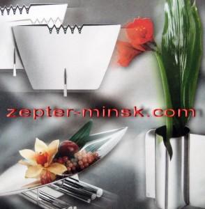 коллекция изысканных ваз Цептер для украшения дома