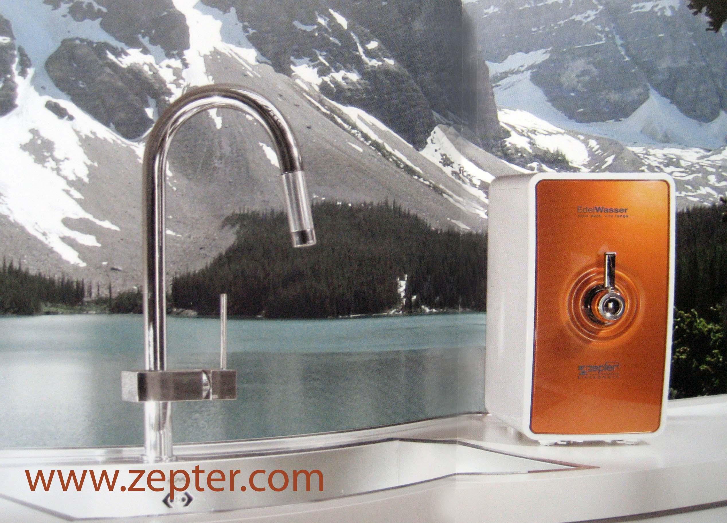 Система очистки воды Эдельвассер Цептер с возможностью установки на столешнице - 660 евро по курсу нацбанка