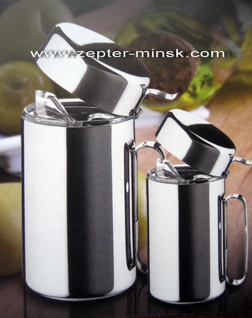 Объявление цептер масленка для сливочного и масла