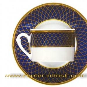 фарфор Кобальт Роял Цептер дополнение к кофейному сервизу до 12 персон -165 евро по курсу нацбанка