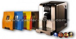 кофемашина капсульная от Цептер в Минске 230 евро по курсу нацбанка