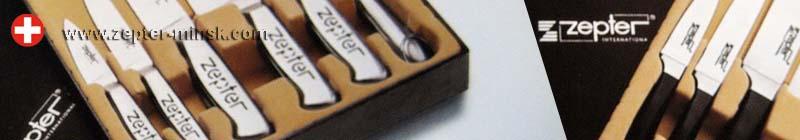 наборы профессиональных ножей Цептер - швейцарское качество