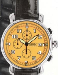 часы Майами желтый циферблат