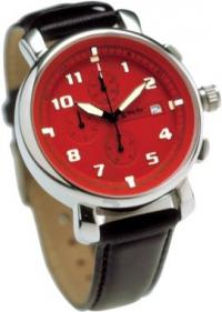 часы Майами с красным циферблатом