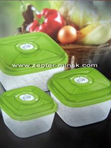 вакси контейнеры в зеленом цвете новой коллекции Цептер в Минске