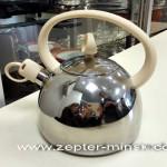 чайник цептер из нержавеющей стали для всех видов плит