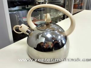 чайник цептер на 2 литра со свистком для всех видов плит